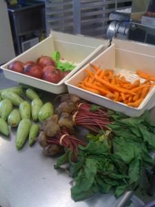 Ingredients for our Veggie Empanadas