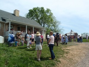 Guests Visit Smith Meadows Kitchen