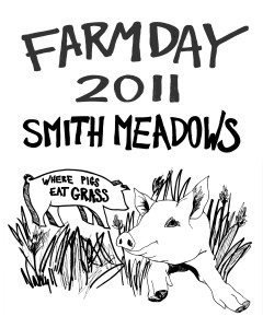 Farm Day T-Shirt 2011 by Nancy Polo