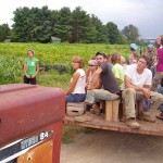 I attended a farm tour with this group of young farmers and not once did I see anyone texting their girl or boyfriend. Let me repeat: 2 hours, over 40 twenty-somethings, and not a single text message! Hope remains for our future.