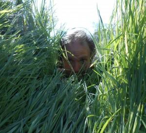 Your author, the grass farmer.