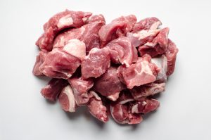 grass-fed lamb cubes