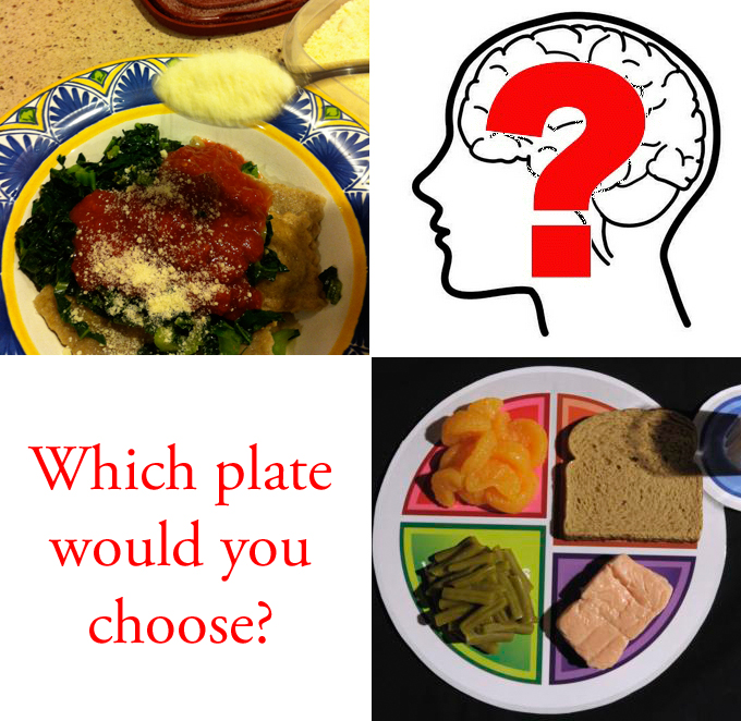Which plate would you choose?