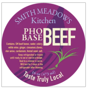 Smith Meadows Pho Base Label